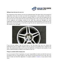 Willing To Buy The Tyres For Your Car.pdf
