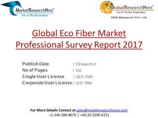 Global Eco Fiber Market Professional Survey Report 2017.pdf