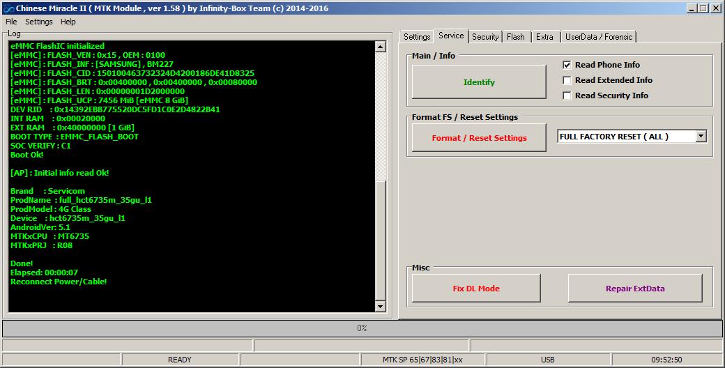 :TnGsm: ملف servicom 4G Class NVRAM Servicom_