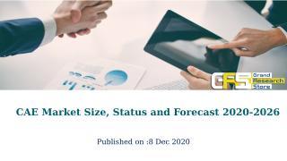CAE Market Size, Status and Forecast 2020-2026.pptx